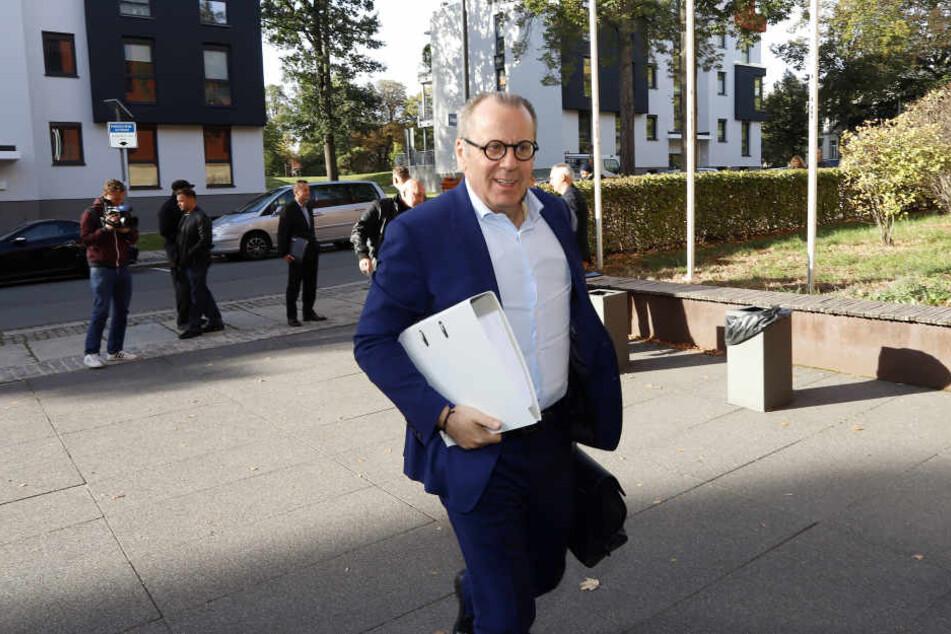 Rombach wurde von Rechtsanwalt Klaus Siemon (59/im Bild) damit beauftragt, einen Gesellschaftervertrag zur Ausgliederung der Profiabteilung des CFC auszuarbeiten.