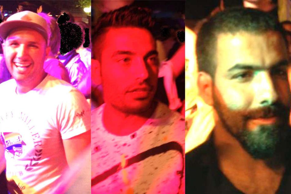 Diese drei Täter haben die 17-Jährige an der Konstablerwache bedrängt.