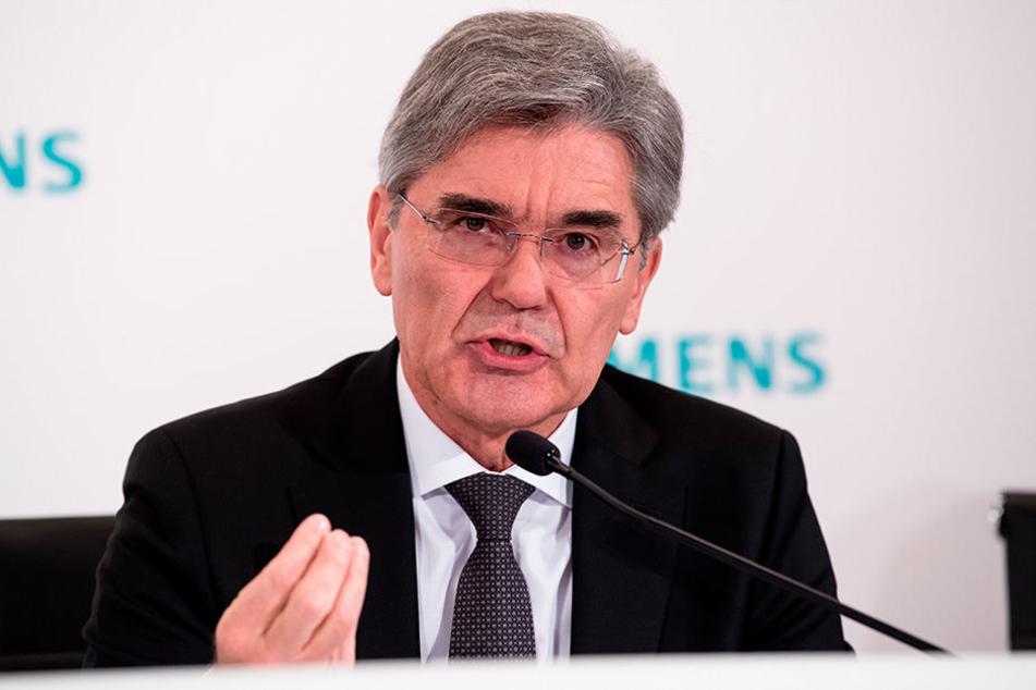 Siemens-Boss Joe Kaeser (61) macht Görlitz anspruchsvolle Vorgaben.