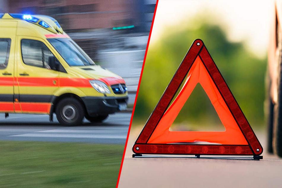 Vorfahrt nicht beachtet? Zwei Verletzte bei Kreuzungs-Crash