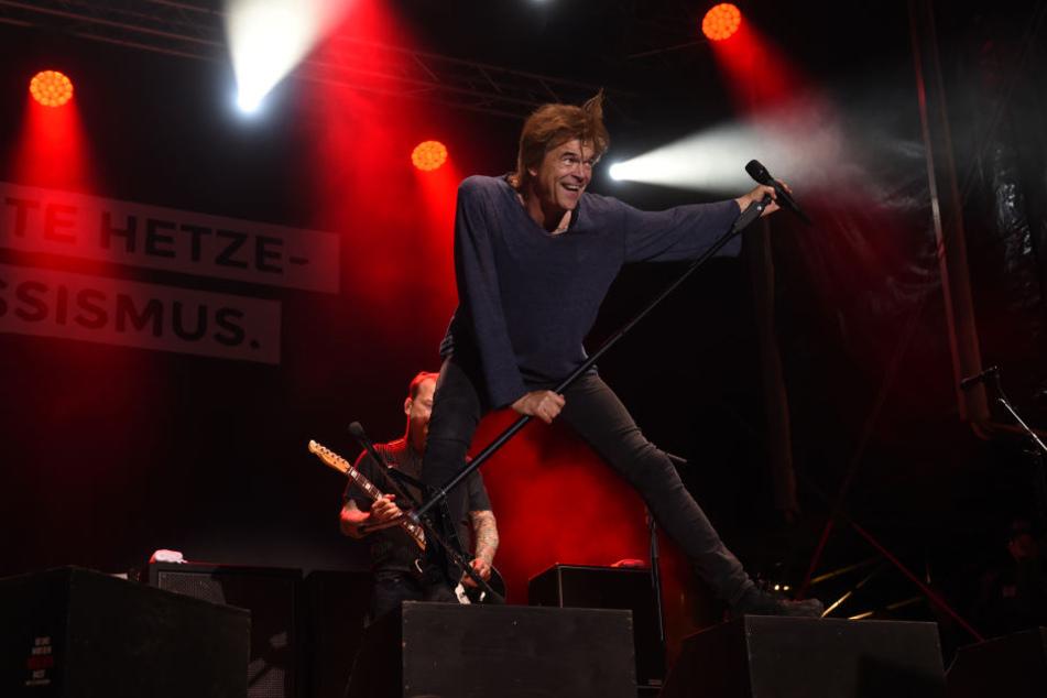 """Sänger Campino von der Rockband """"Die Toten Hosen""""."""