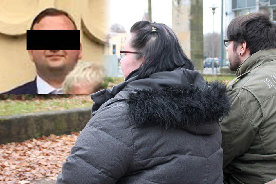 Aline (27) und Silvio T. (29) können noch immer nicht fassen, was ihrem Sohn passierte.
