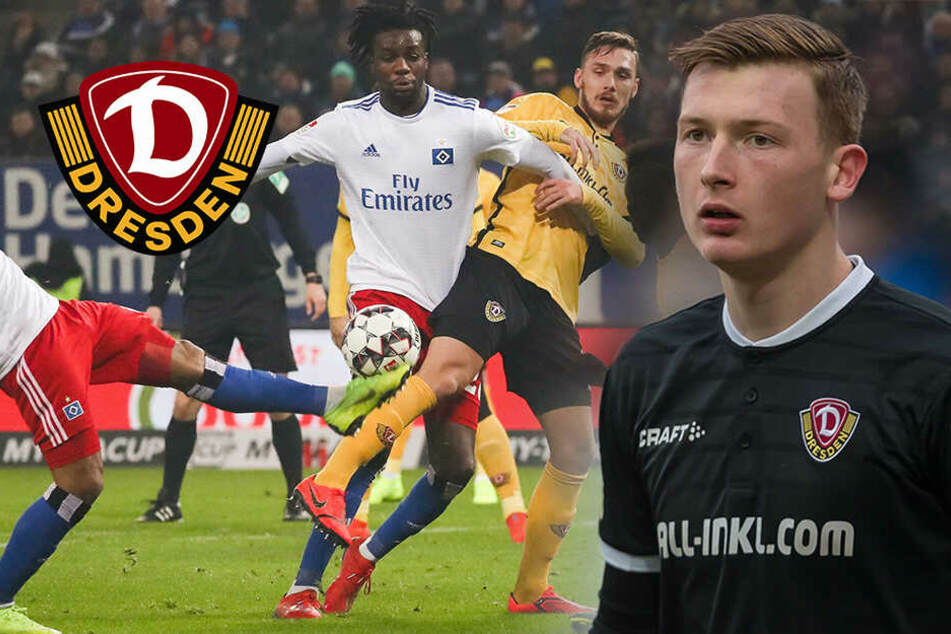 Patzer von Schubert: Dynamo verliert in Hamburg 0:1