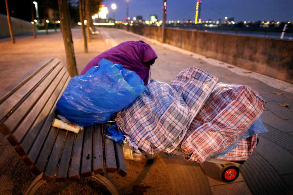 Wenn es draußen kalt wird, steigt der Bedarf an Schlafplätzen für Obdachlose.