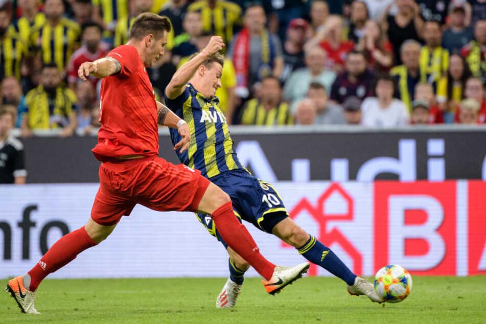 Max Kruse ist nun seit einem halben Jahr in der Türkei bei Fenerbahce Istanbul unter Vertrag.