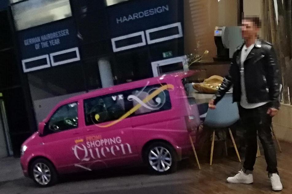 Erwischt! Dieser heiße Promi will Dresdens Shopping-Queen werden