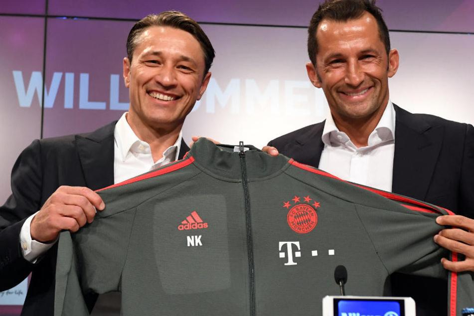 Niko Kovac wurde offiziell als Trainer des FC Bayern München vorgestellt.