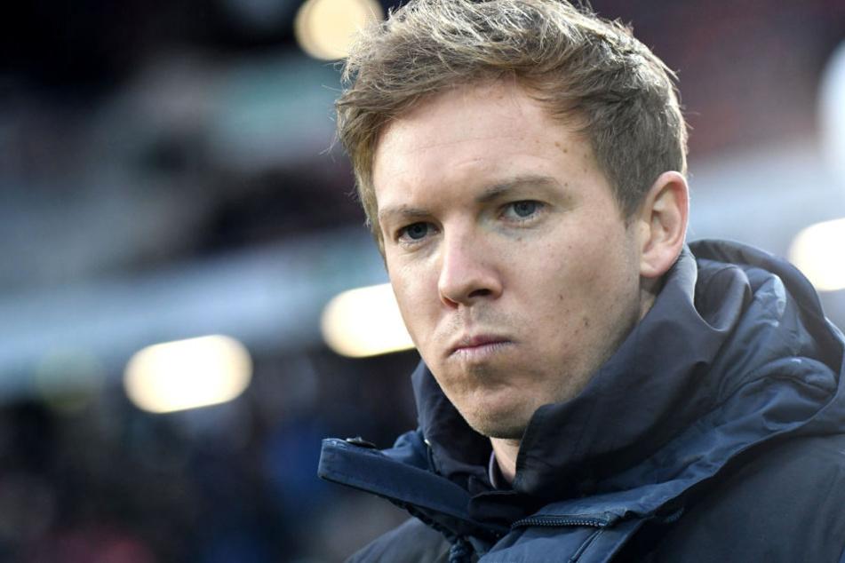 Julian Nagelsmann stellte sich klar auf die Seite von (Noch-) Eintracht-Coach Niko Kovac.
