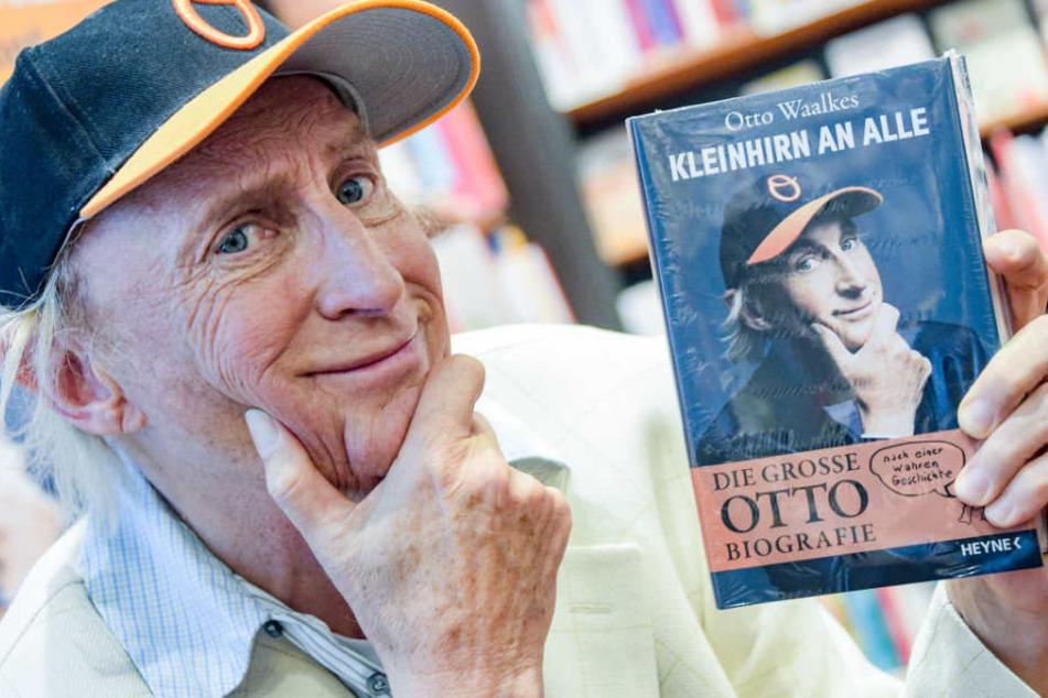Die neue Biografie von Otto Waalkes erschien am 14. Mai.