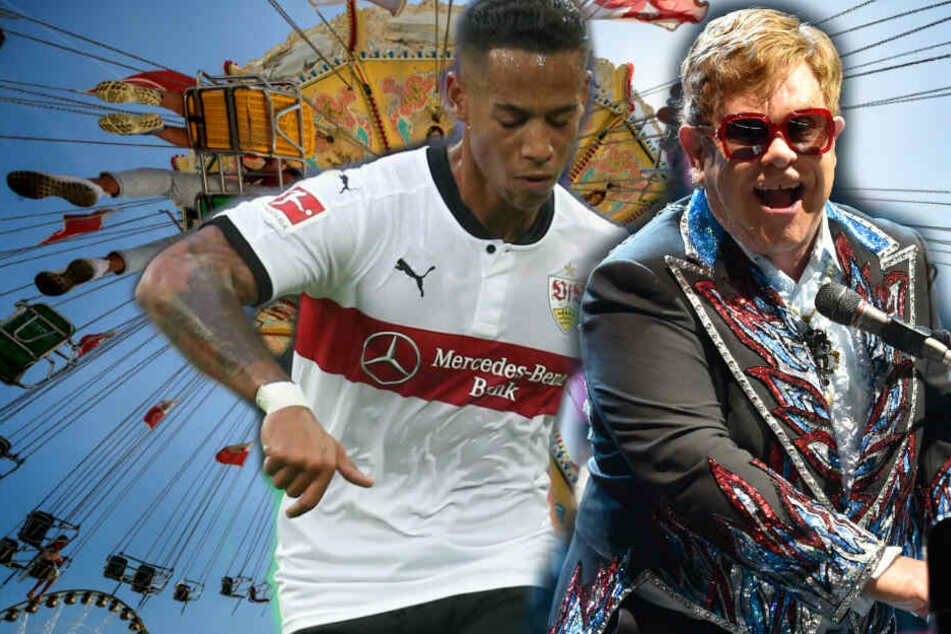 Ob Frühlingsfest, VfB-Spiel oder Elton John: Für Autofahrer wird es ein stressiger Samstag in Stuttgart. (Fotomontage)