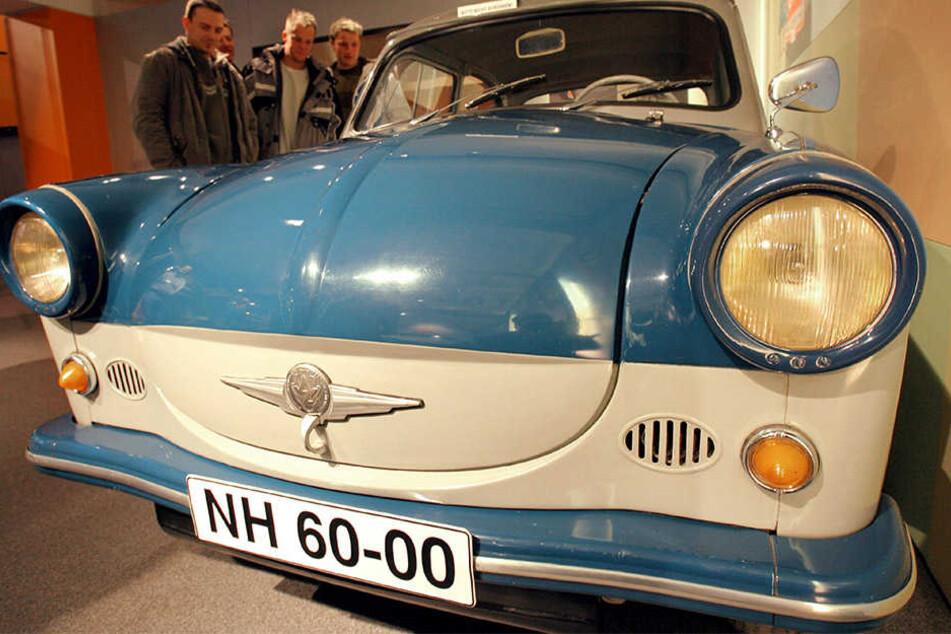 Der Trabi, als er noch rund war. Die Serienproduktion des P50 begann vor 60 Jahren.