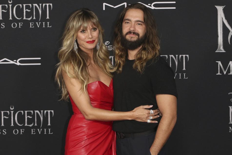 Müssen jetzt Abstand halten: Heidi Klum und Ehemann Tom Kaulitz.