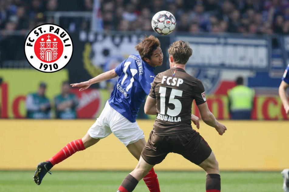 FC St. Pauli verliert gegen zehn Kieler nach Halbzeitführung
