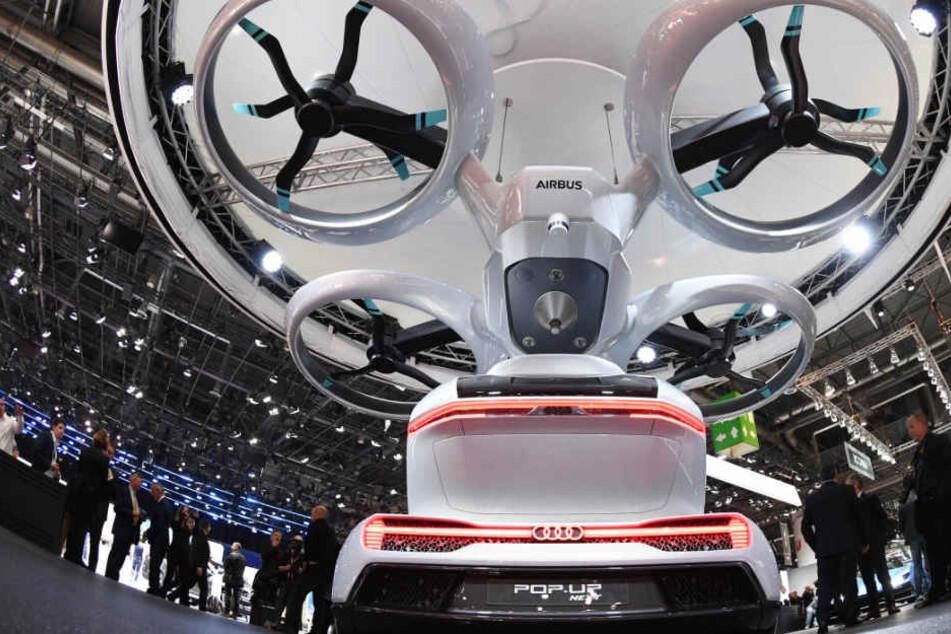 Flugtaxis sollen das Fortbewegungsmittel der Zukunft sein. (Symbolbild)