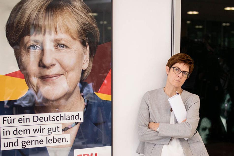Im Dezember übernahm AKK den CDU-Vorsitz von Merkel.