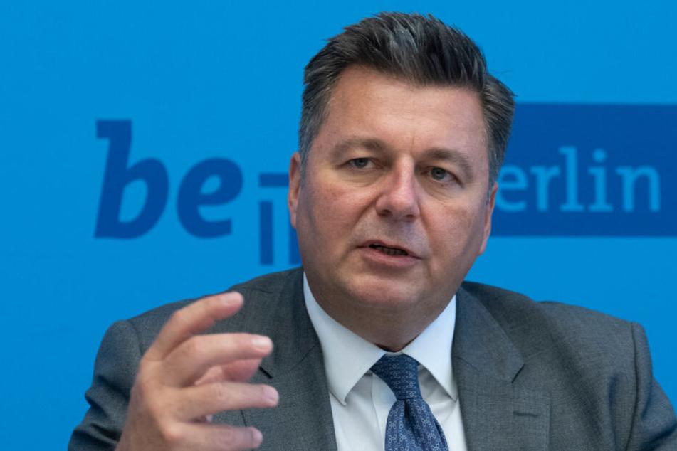 Am Dienstag stellte Innensenator Andreas Geisel den neuen Verfassungsschutzbericht für Berlin vor.