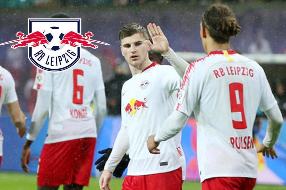 """RB Leipzigs Werner klaut Poulsens Tor: """"Das ist mir scheißegal!"""""""