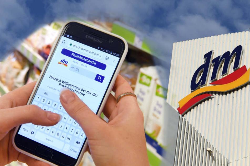 In Zukunft haben alle dm-Verkäufer ein Smartphone. (Bildmontage)