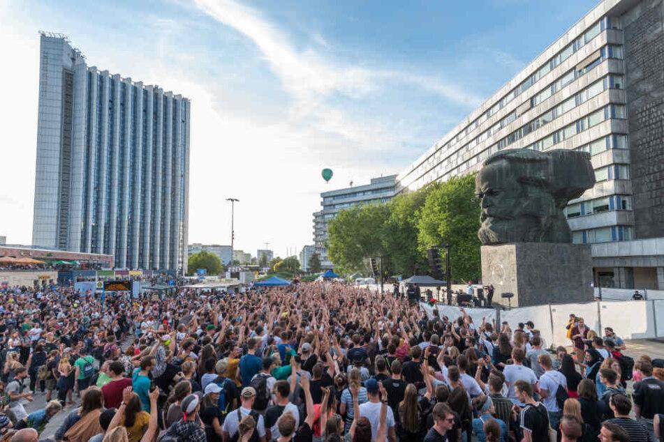 """Das kostenlose Freiluft-Festival """"Kosmos"""" feierte im Juli 2019 seine Premiere."""