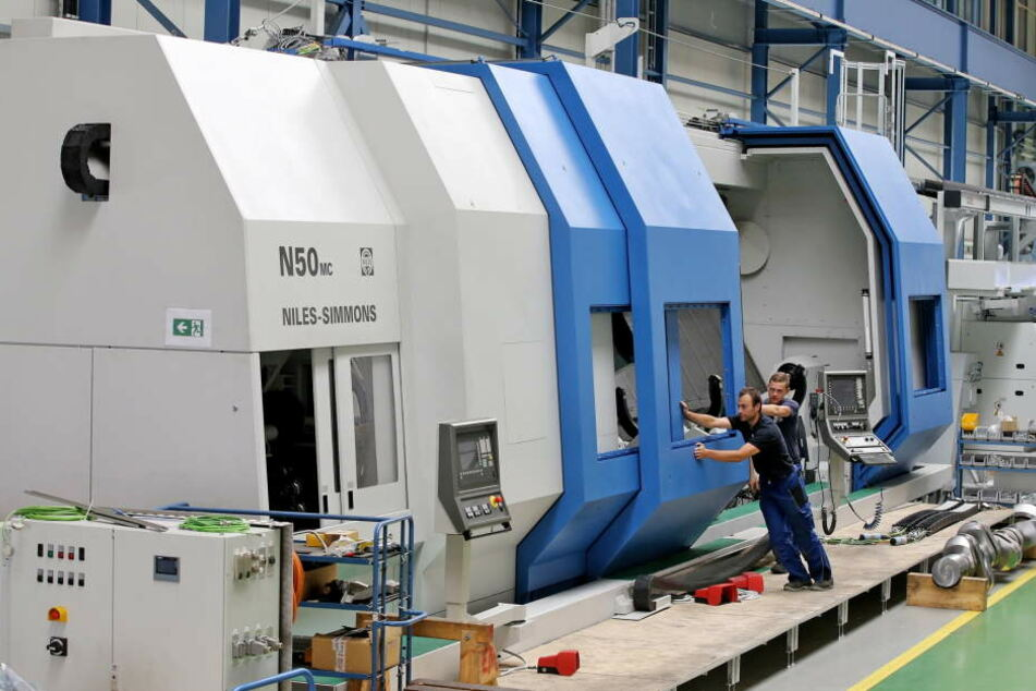 Niles-Simmons baut in Chemnitz Maschinen und Industrieanlagen. Die Firma beschäftigt knapp 400 Mitarbeiter in der Stadt.