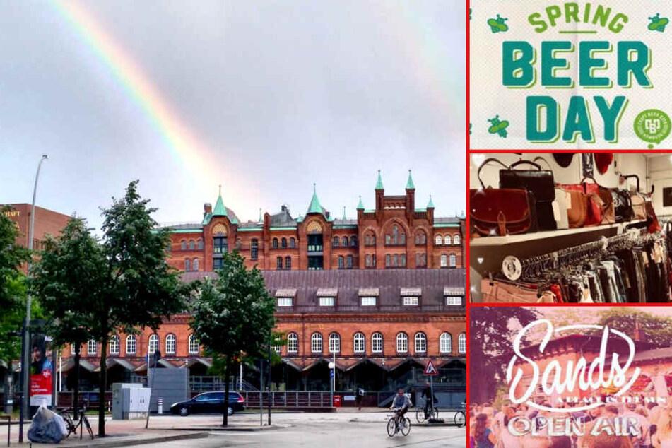 Craft Beer, Sonnentanz, Vintage-Swag und vieles mehr: Das geht am Samstag in Hamburg!