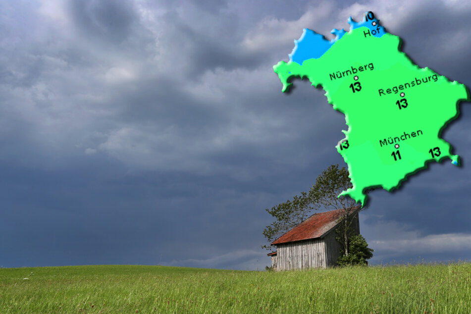 Wolken, Regen, Sonne? So wird der Donnerstag in Bayern