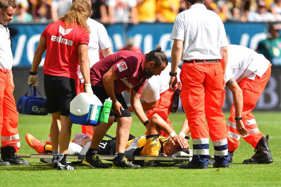 Schwere Knieverletzungen bei Dynamo-Stürmer Testroet