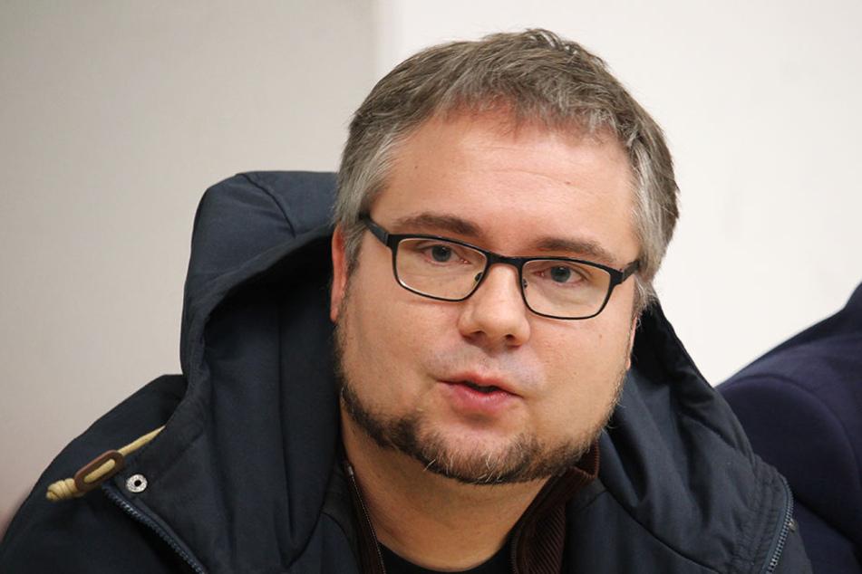 """Markus Dietrich ist Regisseur bei """"Die Unsichtbaren""""."""