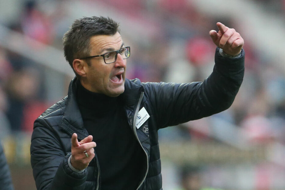 Michael Köllner, Trainer des TSV 1860 München, wird dem Gegner nicht mehr die Hand schütteln.