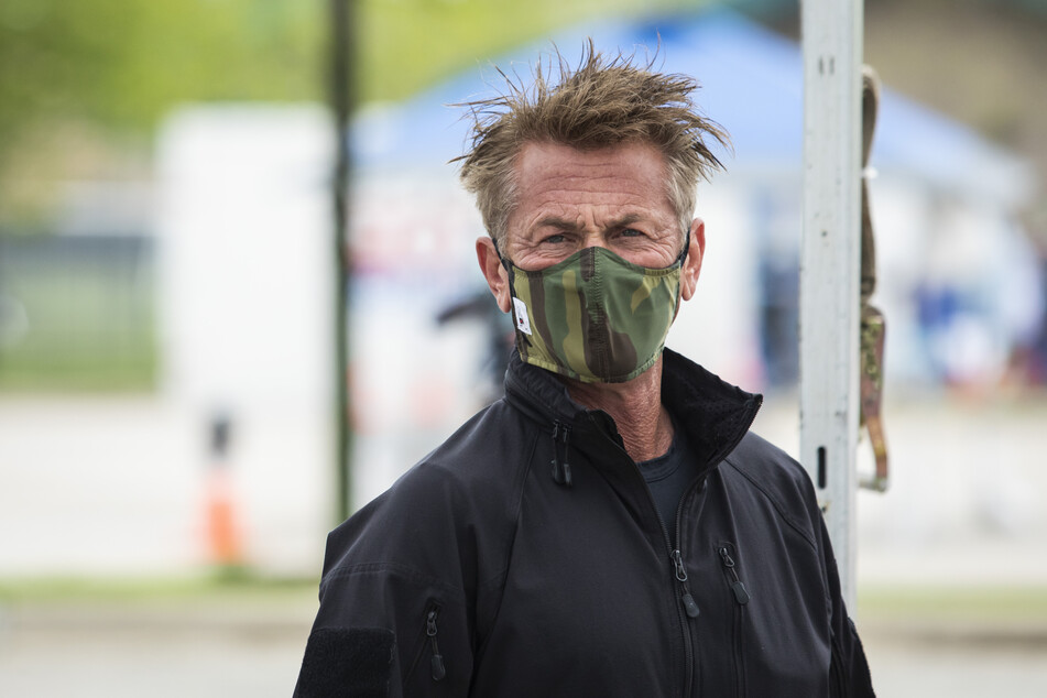 Sean Penn, Schauspieler und Aktivist aus den USA.