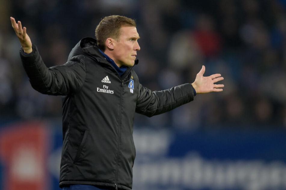 Hannes Wolf musste sich am Ende des Hinspiels mit dem 2:2 zufrieden geben.