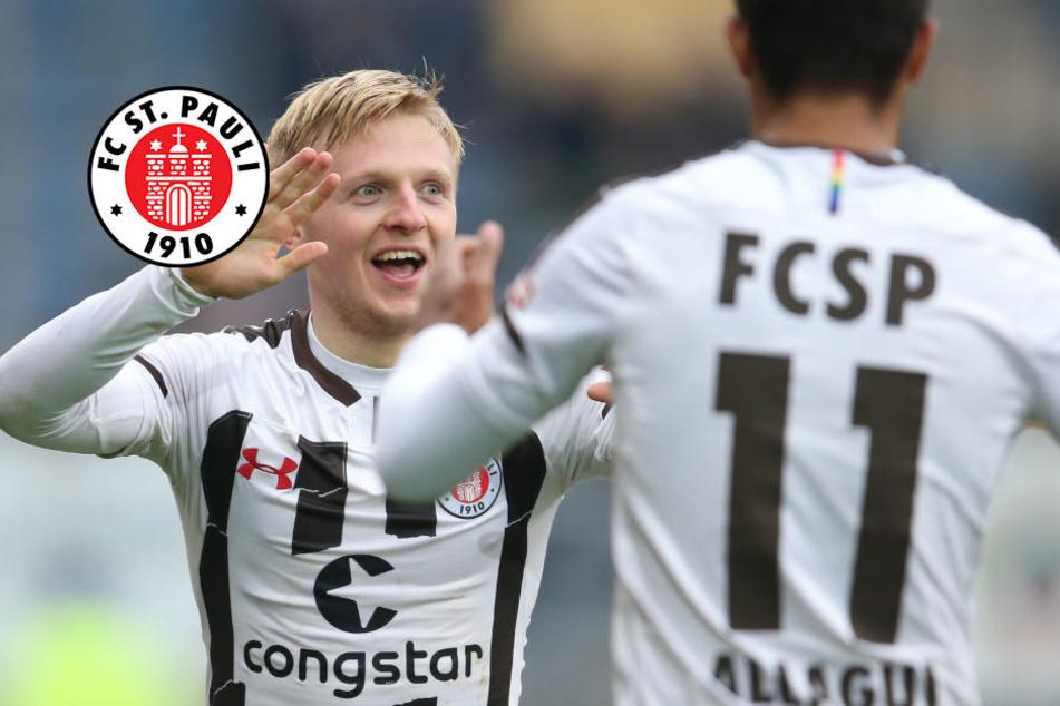 Spitzenreiter! FC St. Pauli dreht Spiel gegen Bielefeld