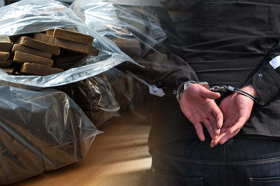 Mutmaßliche Drogendealer werfen 1,2 Kilo Haschisch aus dem Fenster