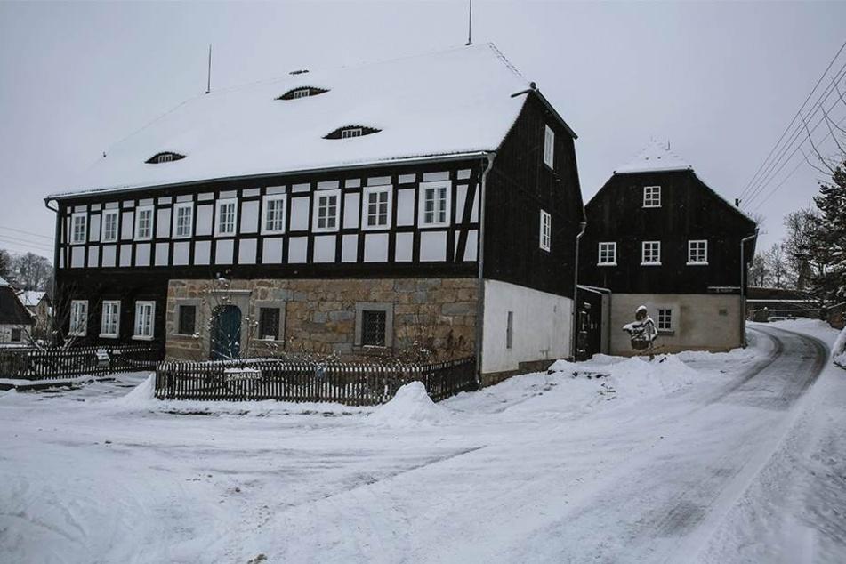 Von außen kaum zu erahnen: In diesem Haus befindet sich das Ebersbacher Kaffeemuseum.