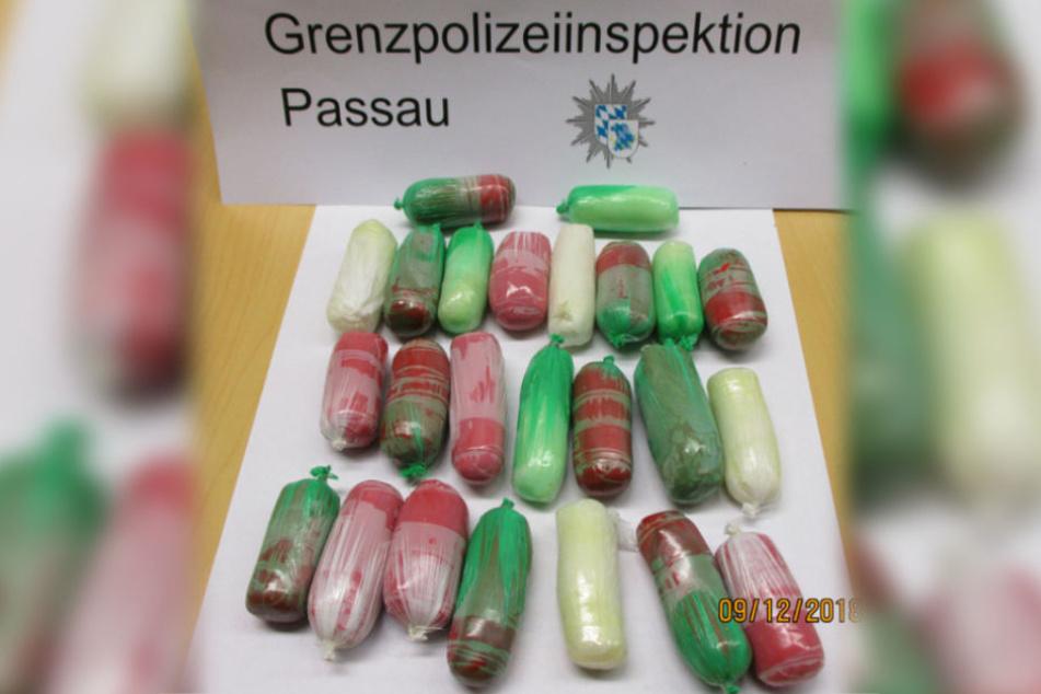 Die Polizeibeamten konnte bei dem Spanier eine große Menge Kokain sicherstellen.
