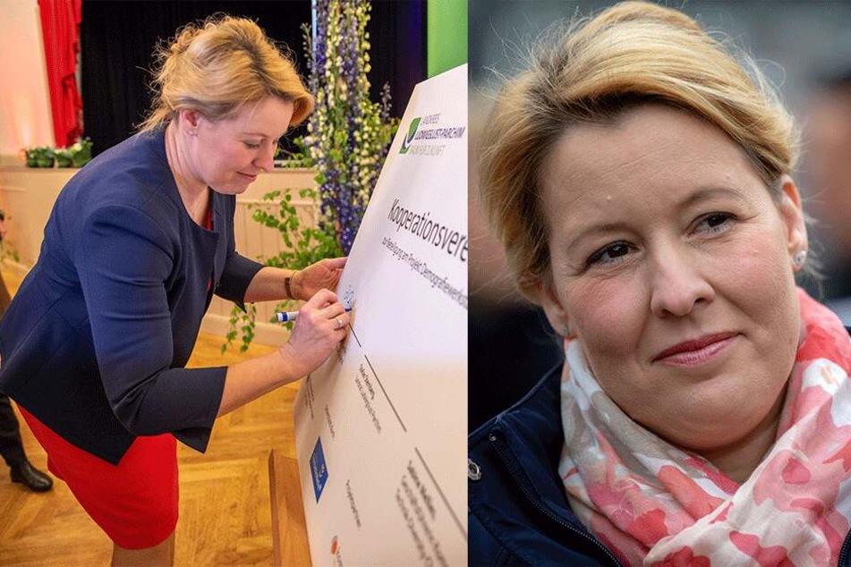 Familienministerin Giffey gerät wegen Plagiat weiter unter Druck