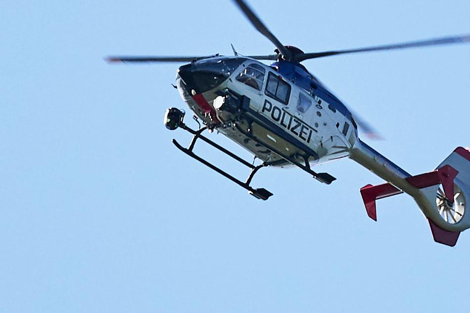 Stundenlanger Einsatz: Wonach hat die Polizei in der sächsischen Schweiz gesucht?