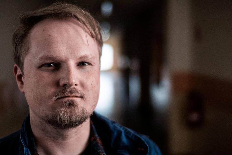 Autor und Regisseur Michael Chlebusch (34) drehte mit der Chemnitzer Filmwerkstatt zehn Filme.