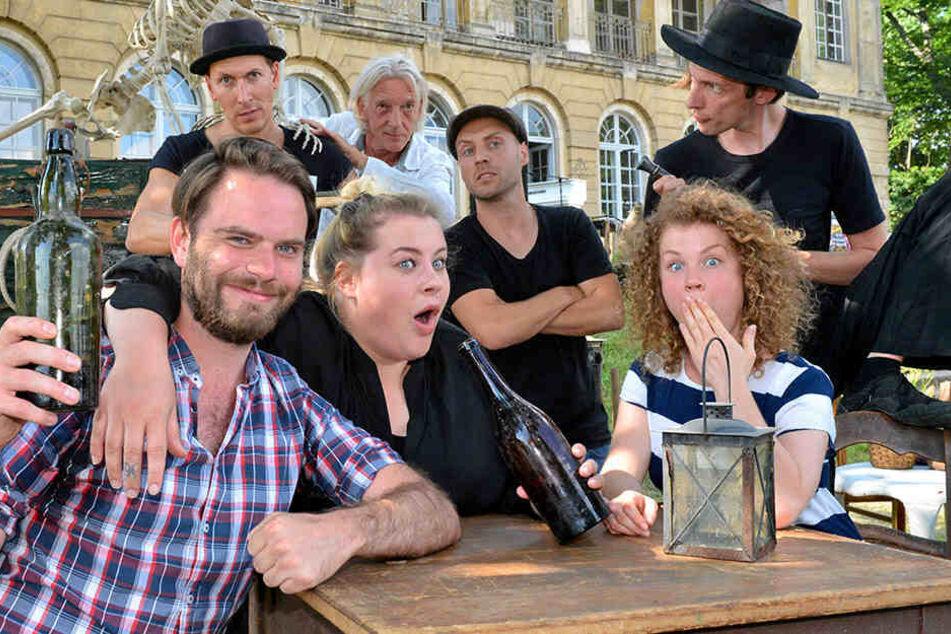 Dresden: Theater, Rock, Bourlesque-Show! Auf Schloss Übigau zieht wieder Leben ein