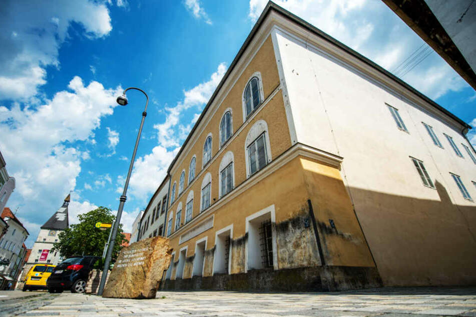 Das Geburtshaus von Adolf Hitler.