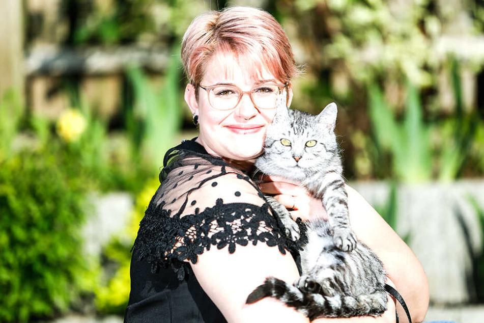 Ein Kätzchen namens Mati wurde schon erfolgreich vermittelt.