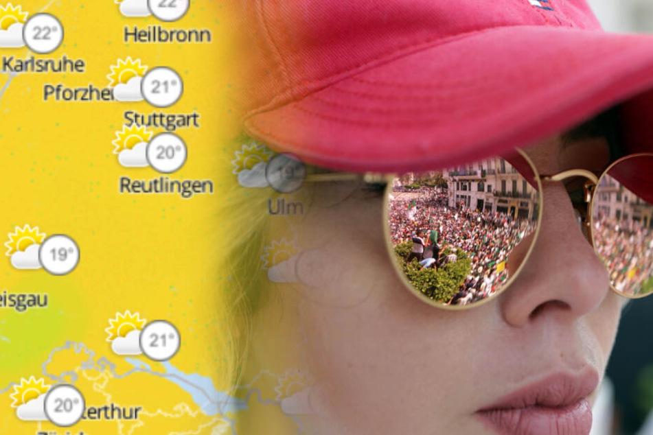Regenschirm und Sonnenbrille: So wird das Wetter im Ländle!