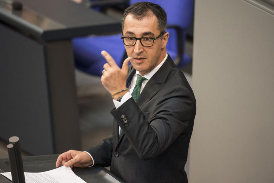 Cem Özdemir ist Abgeordneter der Grünen im Bundestag.