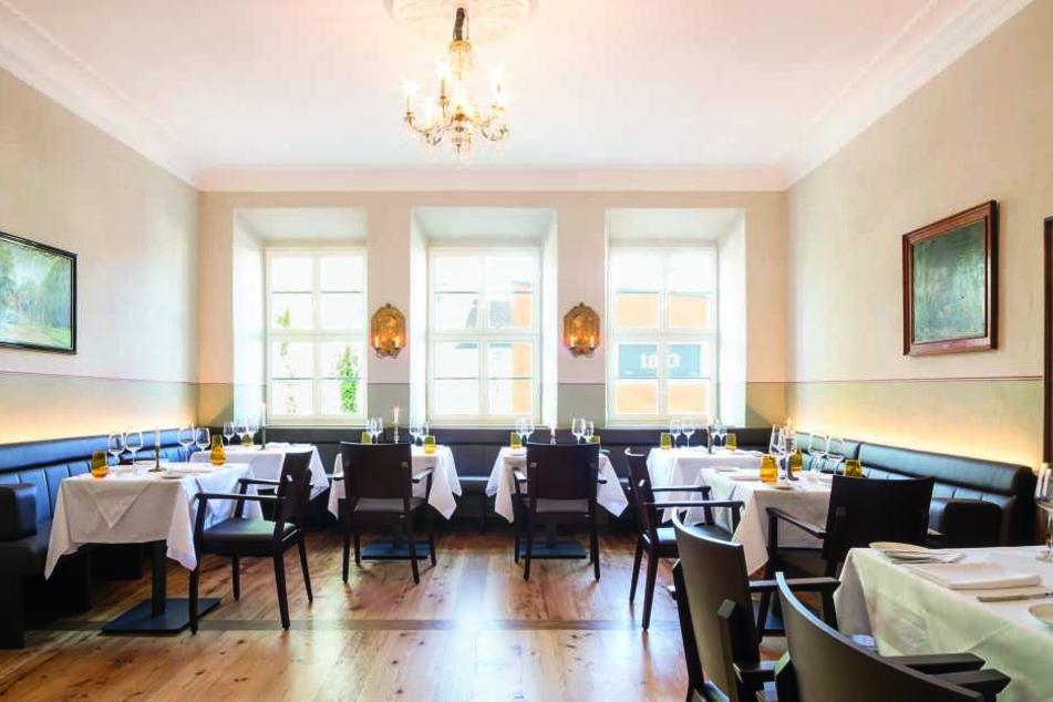 Bestes Menü: Das Schönburger Palais in Lichtenstein hat die Hobby-Restaurant-Tester am meisten überzeugt.
