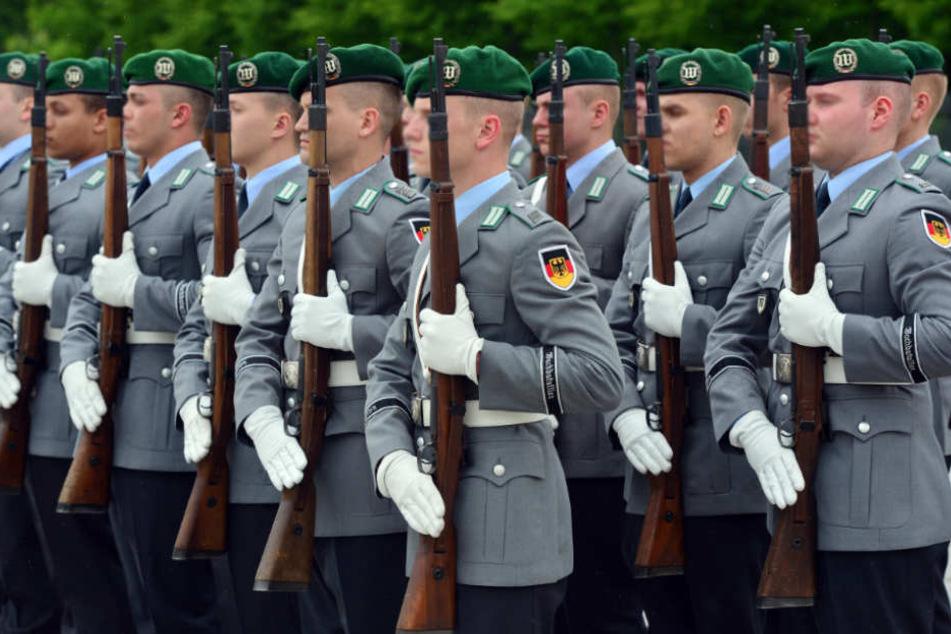Teilweise entwendete der Soldat die Munition und die Sprengkörper aus den Beständen der Bundeswehr (Symbolfoto).