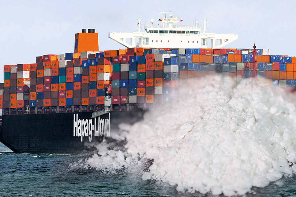 Die Ermittler fanden 185 Kilo Kokain an Bord des Frachters. (Symbolbild)