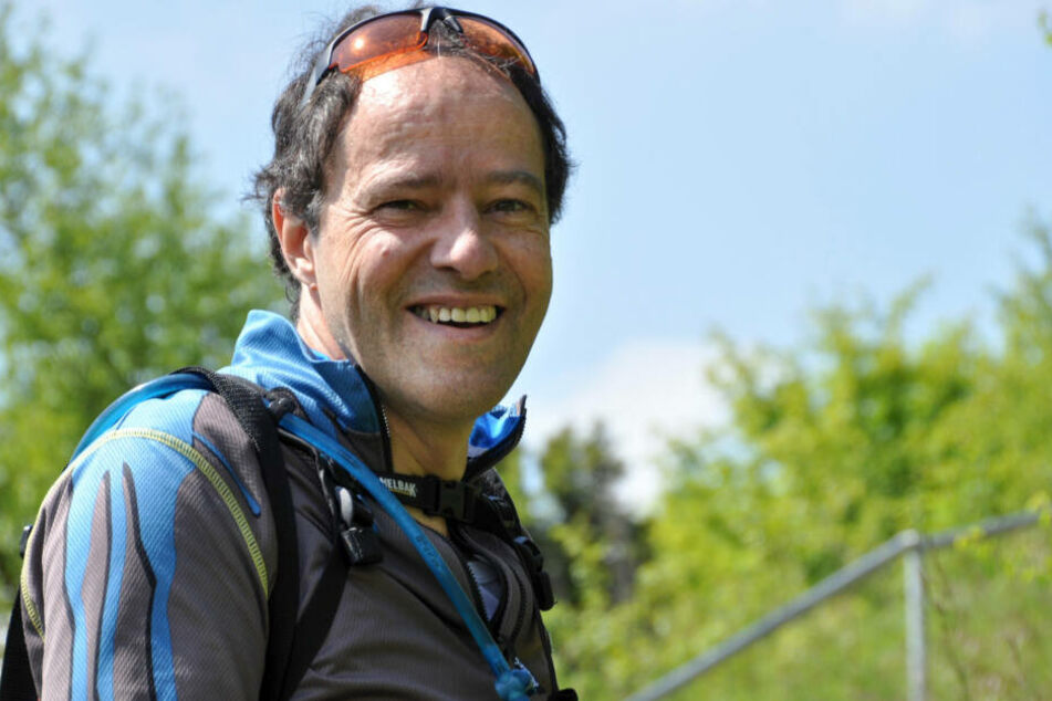 Jürgen Müller aus Eckental. Er will seine Lebensretter-Medaille an den Freistaat Bayern zurückgeben.