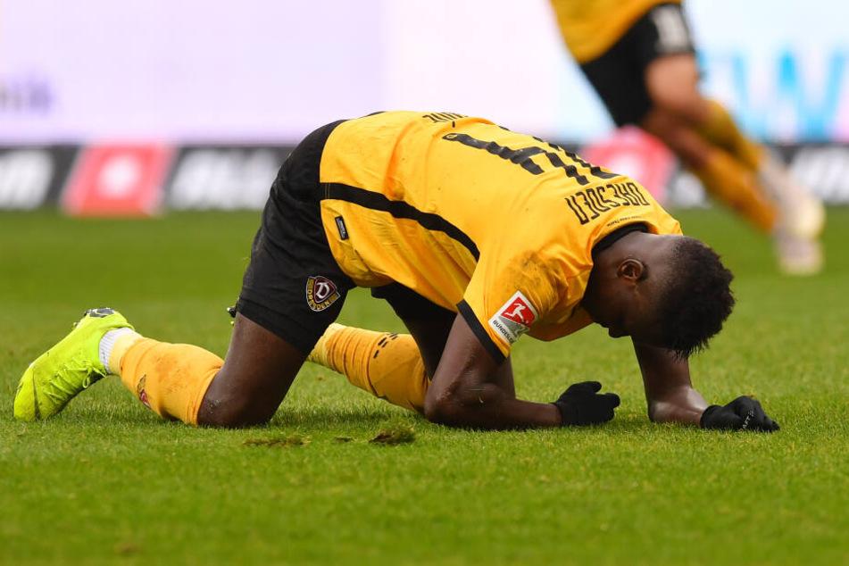 Moussa Koné fand nach seiner Verletzungspause keine Bindung zum Spiel.