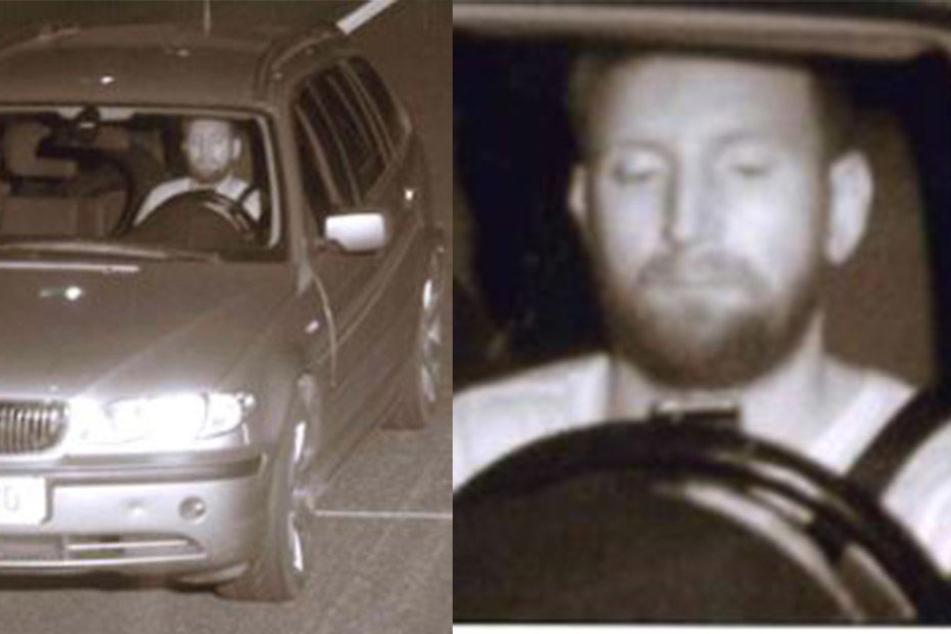 Mit Handy in der Hand und geklauten Kennzeichen am Auto war dieser Mann auf der Autobahn unterwegs?