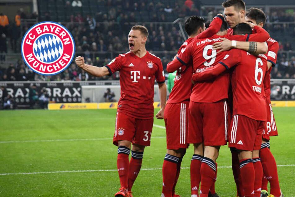 FC Bayern überrumpelt Gladbach und zieht mit Dortmund gleich